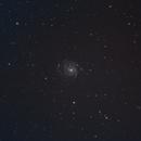 M101 - The Pinwheel Galaxy,                                Nathan