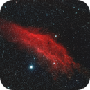 NGC1499 California Nebula in HOO palette,                                Stefano Zamblera