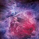 M42 - Orion Nebula HaGB-Infrared (Portrait View),                                Oliver Czernetz