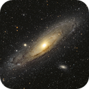 Messier 31 - final version,                                Kamil Fiedosiuk