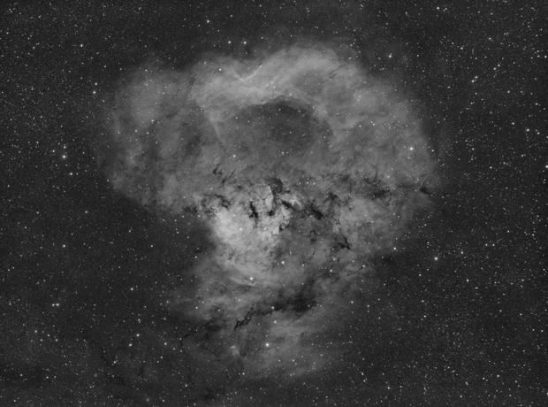NGC 7822 WIP Canon 200mm Ha,                                mikefulb