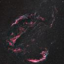 The Cygnus Loop - 6 panel mosaic,                                Matt Harbison