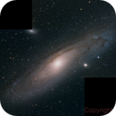 M31 from 26 Degrees South ,                                Peter Pat