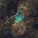 Nébuleuse de l'aigle (M16) - Mosaïque,                                Julien Bourdette