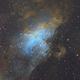 M16 - Eagle Nebula in SHO Narrowband,                                Simon Todd