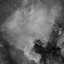 NGC 7000 in H-alpha,                                Jarrett Trezzo