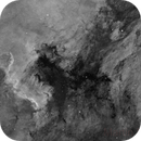 North America and Pelican Nebula,                                Martin Magnan