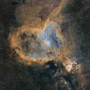 Heart Nebula in Hubble Palette,                                Johnny Qiu