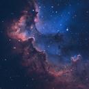 Wizard Nebula NGC 7380 in SHO Palette,                                Barczynski