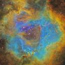 Rosette Nebula Core in SHO,                                David McClain