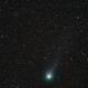 Comet Lovejoy (C/2014 Q2) passing the Little Dumbbell Nebula,                                Rudolf Bumm