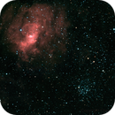 M52 and Bubble Nebula (revisited),                                Charles Ward