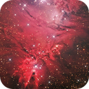 The Cone Nebula (HaLRGB),                                Ruben Barbosa