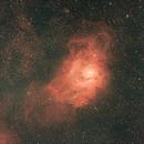 Lagoon Nebula, M8, NGC 6523,                                Reinhold Schandl