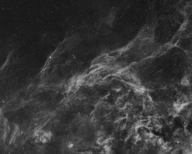NW Cygnus in H-alpha - 24 panel Mosaic,                                Nico Carver