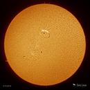 Solar Crater?? - AR 12741,                                Damien Cannane