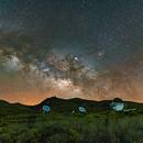 Milkyway over the Roque de los Muchachos,                                Alexander Voigt