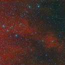 SH2-205 Emission Nebula,                                apophis