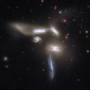 Seyfert's sextet. Merge and Processing of Hubble and Spitzer's data.,                                Benoit Blanco
