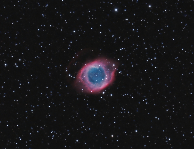 Helix nebula ngc 7293,                                Paul May
