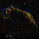 NGC 6992 - NGC 6995 - Caldwell 33  in SHO,                                Uwe Deutermann