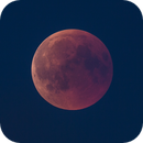 The blood moon on 27th of July, 2018,                                Jari Saukkonen