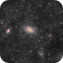 M81+M82 with Flux Nebula (exposed from lightpolluted area),                                Arno Rottal