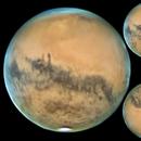 MARS 10 10 2020 1H49 NEWTON 625 MM BARLOW 5 ROUE FILTRES RVB QHY5III178M 100 ET 47%  LUC CATHALA,                                CATHALA Luc