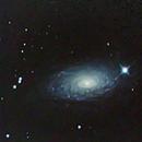 M63 Sunflower Galaxy,                                Wilsmaboy