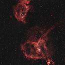 Heart and Soul Nebula,                                mightymonoped