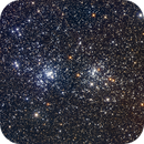 Perseus Double Cluster - NGC869 and NGC884,                                Christopher Ober