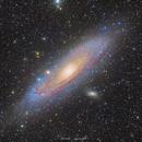 Andromeda galaxy - M31,                                Edoardo Paparelli