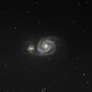 M 51 - Whirlpool galaxy,                                Marius Bednar