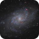 M33 - reprocess with latest version of PI,                                Steve Milne