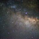 Milky Way from Isabela, PR,                                José Miranda