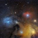 Antares , M4, M80, widefield,                                Santiago Rodrígue...