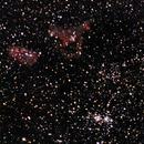 IC 1848 Soul Nebula and IC 1805 Heart Nebula,                                Kharan