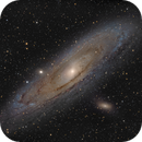 Andromeda Galaxy HaLRGB,                                Arno Rottal