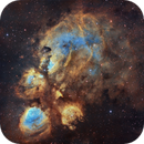 Cat's Paw in Hubble colors,                                Diego Gravinese