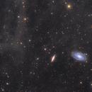 M81 Bode's galaxy, M82 Cigar galaxy and IFN,                                Andrea Pistocchin...