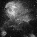 Running Chicken Nebula IC 2944,                                Andre
