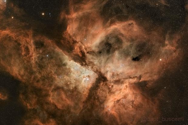 Eta Carina NGC3372,                                Mark Sandford
