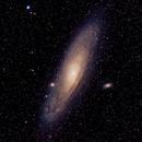 Andromeda M31,                                FocalWorld