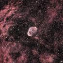 Crescent Nebula NGC6888,                                Prabhakar
