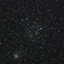 M35 and NGC2158,                                Mike Wiles