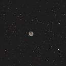 NGC 246 Skull nebula and NGC 255 spiral galaxy,                                lukfer