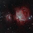Orion Nebula Complex using Ha-OIII-RGB combination,                                JDJ