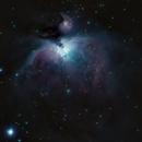 Orion Nebula - M42,                                Euripides