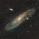 M31 Andromeda Galaxy,                                Antonio Bonanno
