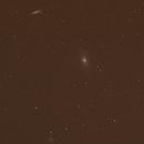 Supernova SN2014J in M82 - Comparison with older picture,                                Carleton University